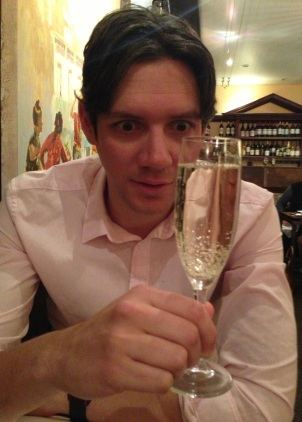 Prosecco at Himalayan Sherpa Kitchen