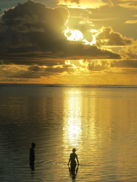 Tahitian Sunset