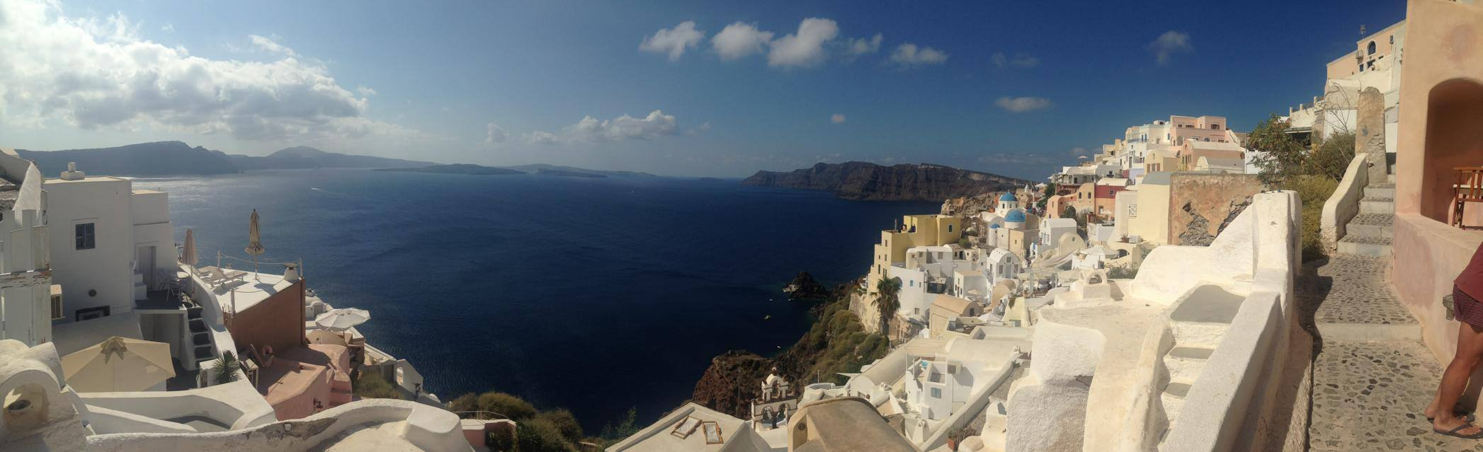 The beauty of Santorini!