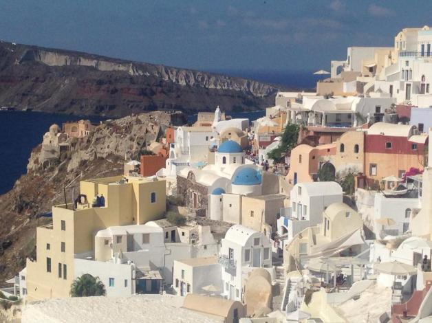 The style of Santorini