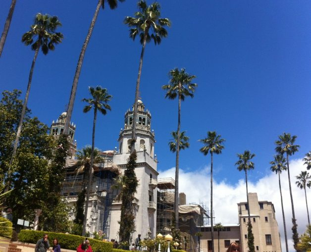 Hearst Castle - A National and California Historical Landmark mansion located in San Simeon. It was designed by architect Julia Morgan for newspaper magnate William Randolph Hearst.