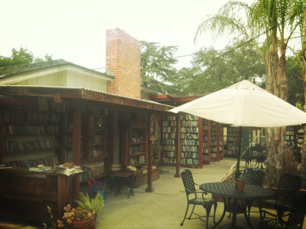 Ojai, California Bart's Books - This book store is at the corner of Matilija and Canada streets in Ojai, CA, is the home to the largest independently owned and operated outdoor bookstore in the U.S.A.