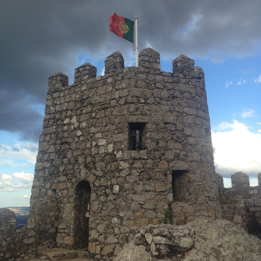 Moorish Castle in Sintra, Portugal.