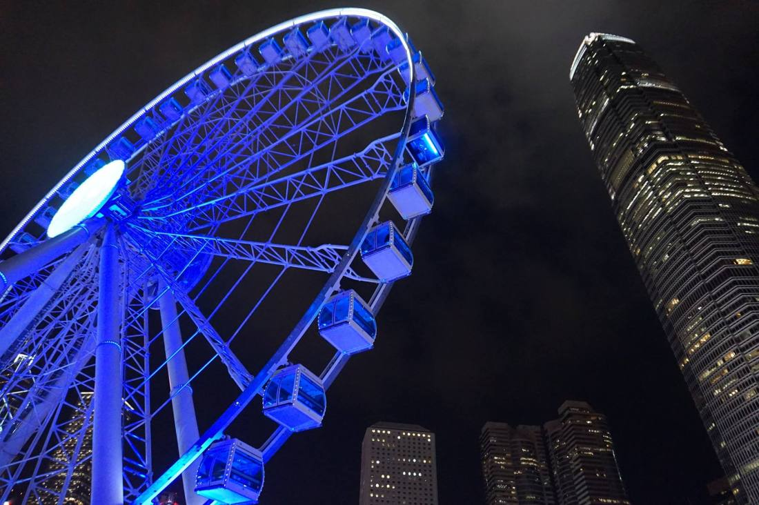 Hong Kong Observation Wheel.