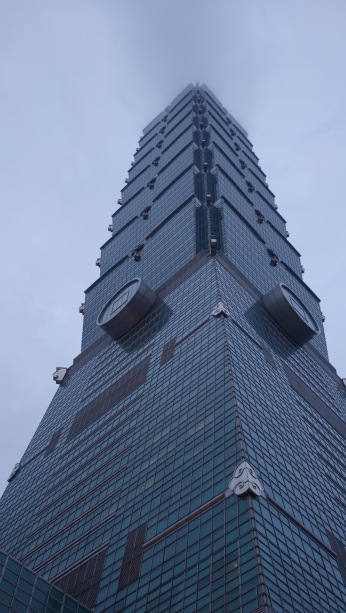 101 Taipei Tower - The 9th Tallest building the world.